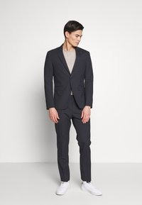 Tommy Hilfiger Tailored - SMALL CHECK SLIM FIT SUIT  - Suit - grey - 0