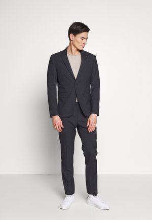 SMALL CHECK SLIM FIT SUIT  - Garnitur - grey