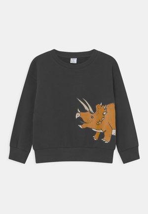 DINO PLACED - Sweatshirt - dark grey