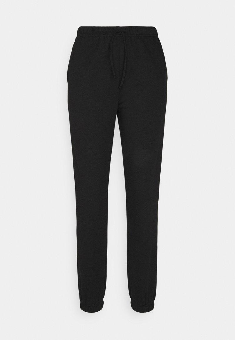 Vila - VIRUST PANT - Tracksuit bottoms - black