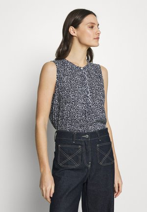 TOP - Camicetta - navy/floral