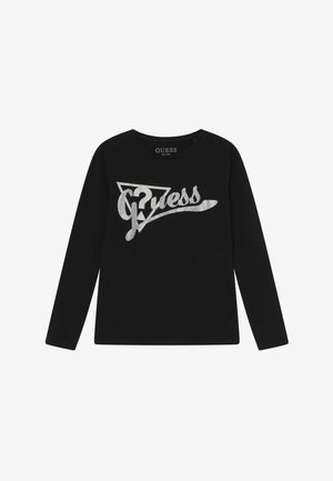 JUNIOR - Longsleeve - jet black