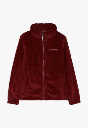 FIRE SIDE SHERPA FULL ZIP - Fleece jacket - pomegranate