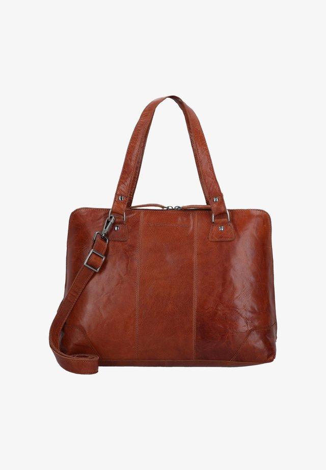 RESA - Laptop bag - cognac