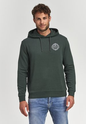Hoodie - cilantro green