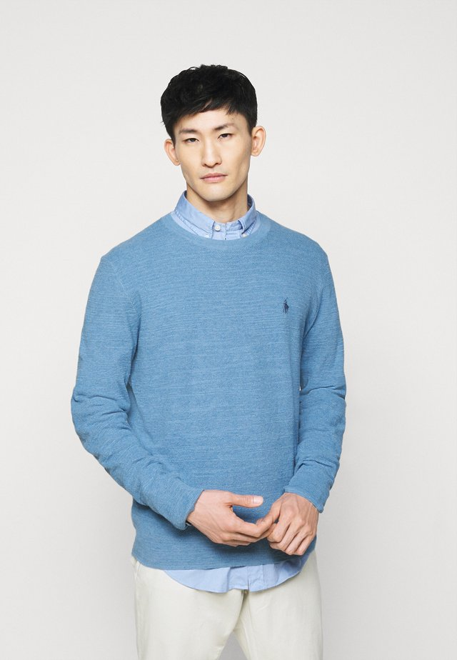 Pullover - denim blue heather