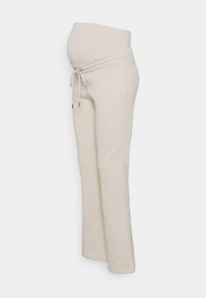 TROUSERS ROSE MOM - Tracksuit bottoms - light beige