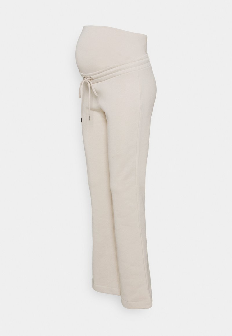 Lindex - TROUSERS ROSE MOM - Tracksuit bottoms - light beige