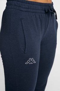 Kappa - TAIMA PANTS WOMEN - Pantaloni sportivi - dress blues - 4