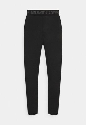 LOGO WAISTBAND GALFOS PANT - Pantaloni sportivi - black