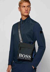 BOSS - Across body bag - dark blue - 1