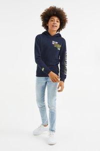WE Fashion - Slim fit jeans - blue - 0