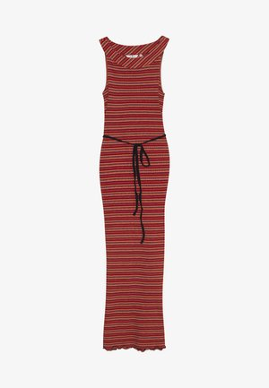 DRESS LONG - Vestido largo - red