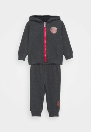 DINO FULL ZIP SET - Tracksuit - black heather