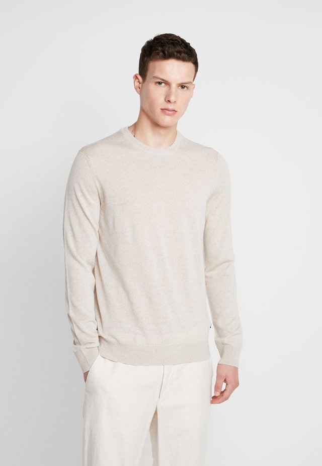TED - Pullover - light khaki melange
