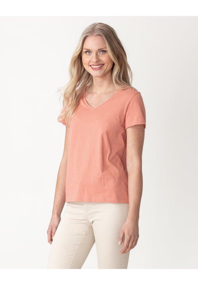 MATHILDA  - Basic T-shirt - peach