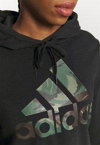adidas Performance - CAMO - Hoodie - black - 5
