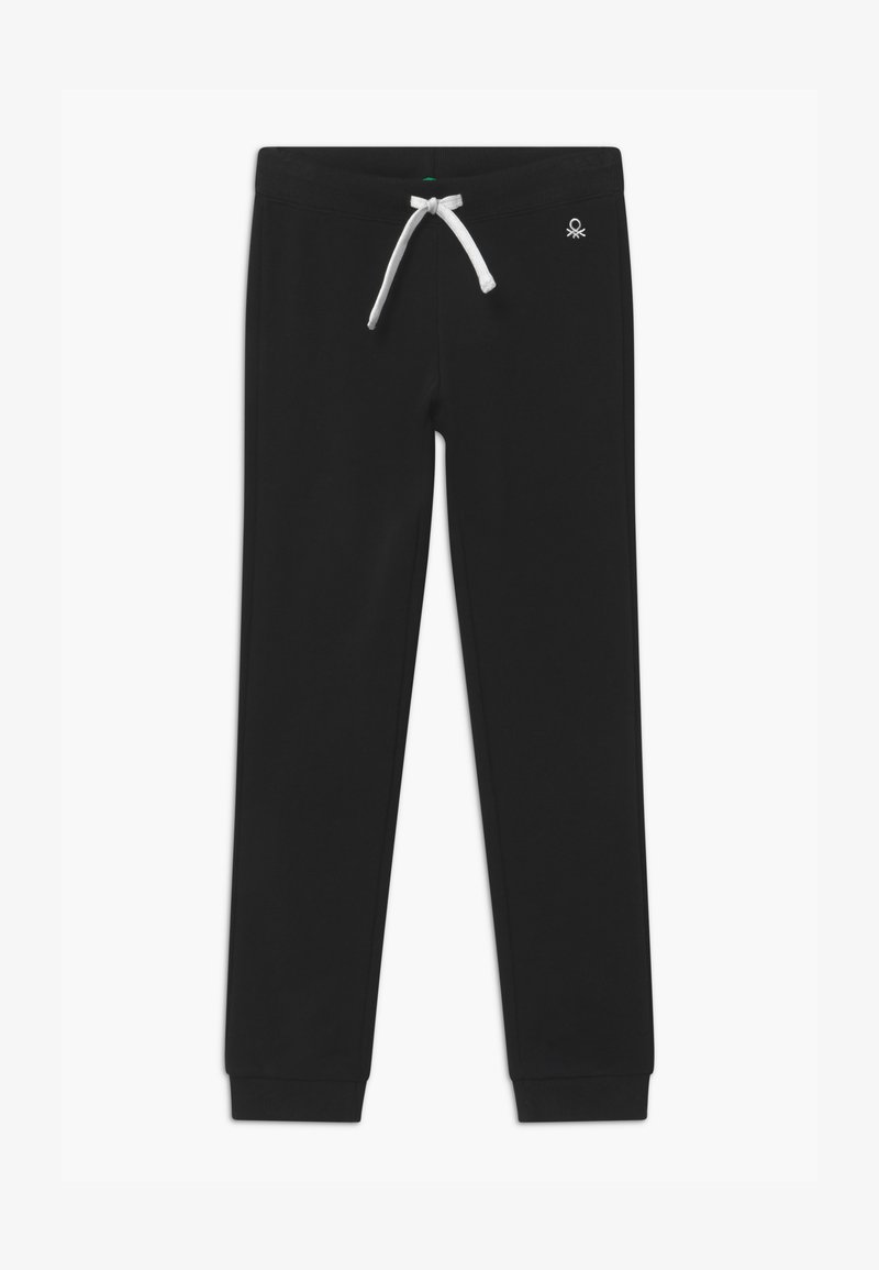 Benetton - BASIC GIRL - Teplákové kalhoty - black