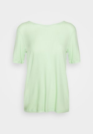 MONA DEEP BACK TOP - T-shirt basic - pistachio green