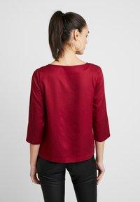 Re.draft - BLOUSE - Blusa - red velvet - 2