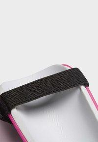 adidas Performance - TRAINING SHIN GUARDS - Shin pads - white - 3