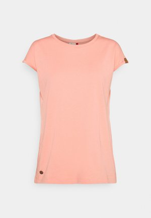 DIONE - Basic T-shirt - coral