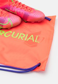 Nike Performance - MERCURIAL 8 ELITE FG - Moulded stud football boots - bright crimson/metallic silver - 5