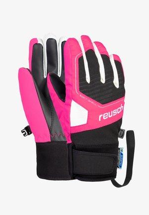 Gloves - black/ knockout pink
