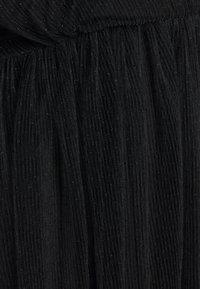 Simply Be - LONG SLEEVE SKATER - Koktejlové šaty/ šaty na párty - black - 2