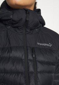 Norrøna - FALKETIND HOOD - Down jacket - black - 5