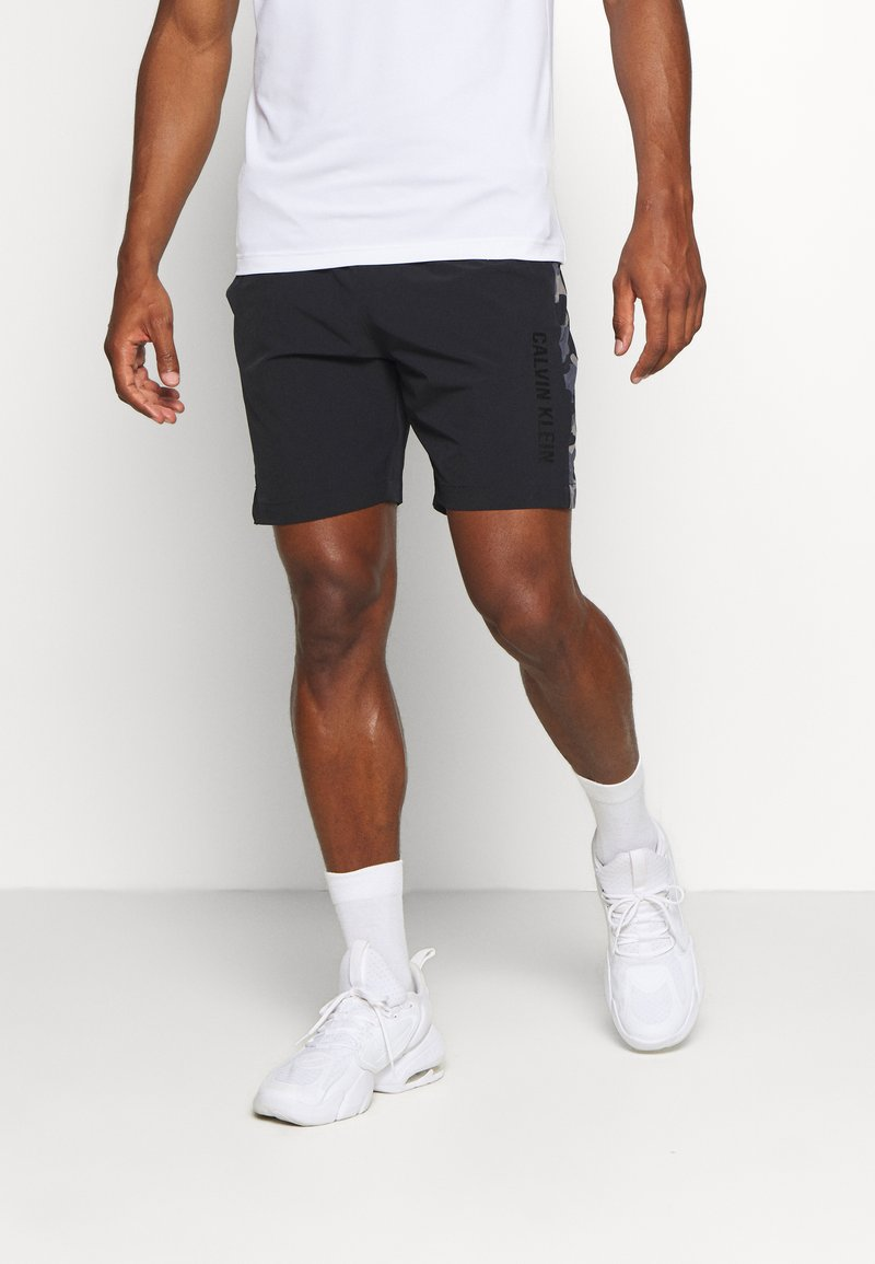 Calvin Klein Performance - SHORTS - Sports shorts - black