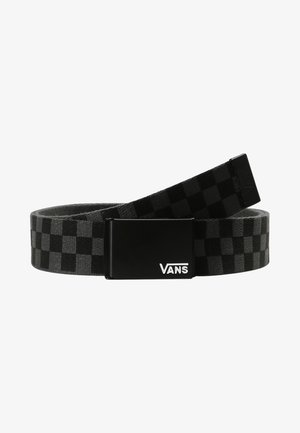 DEPPSTER BELT - Pasek - black/charcoal