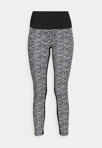 MICHAEL Michael Kors - LOGO LUX - Leggings - Trousers - white/black - 3