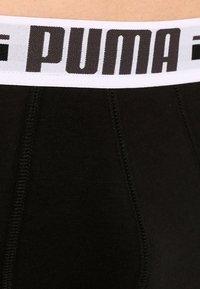 Puma - BASIC 2 PACK - Panties - black - 4