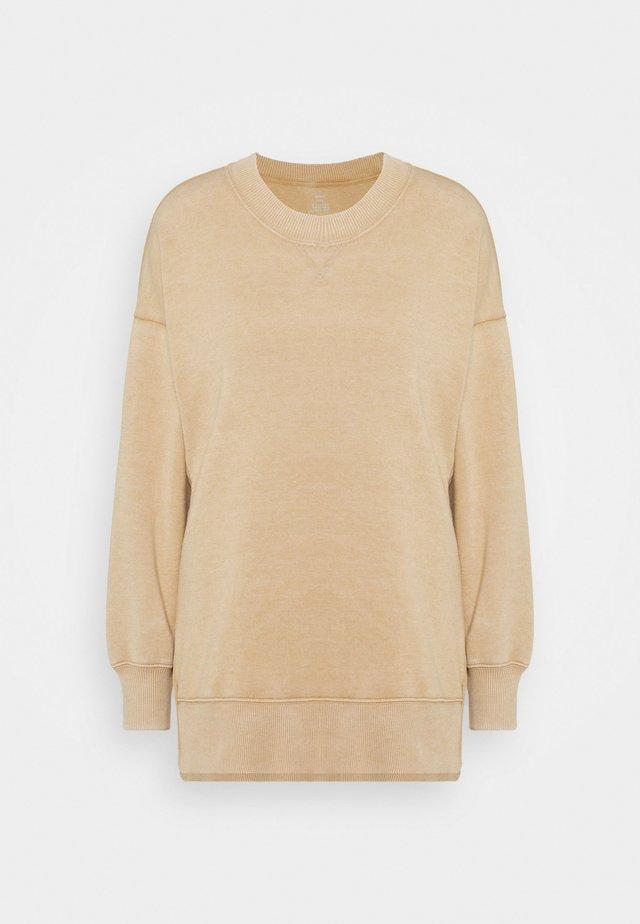 SUNDRY GARDEN CREW - Sweatshirt - basketweave