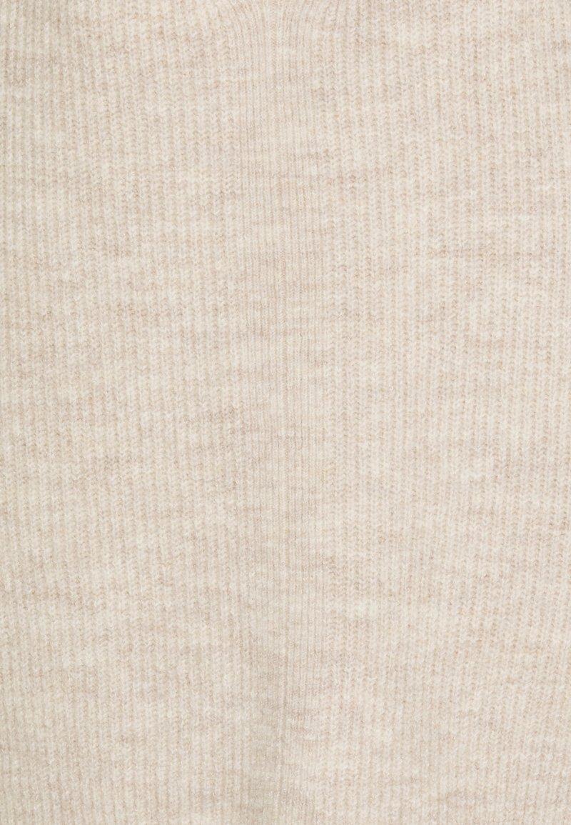 TOM TAILOR DENIM STRUCTURED - Strickpullover - beige melange/beige oH6lYV