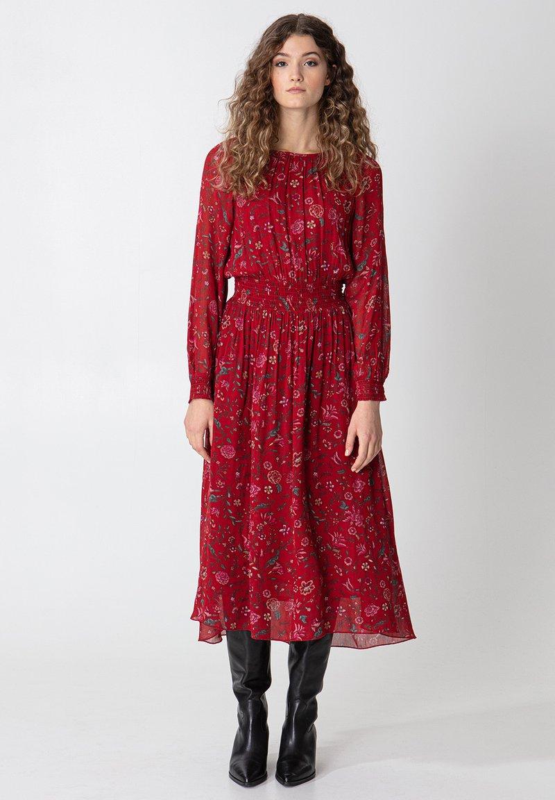 Indiska - Denní šaty - red
