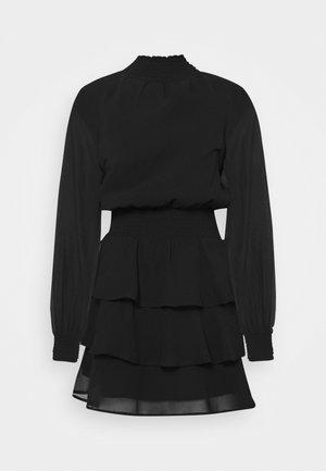 ALEXA TURTLNECK DRESS EXCLUSIVE - Day dress - black