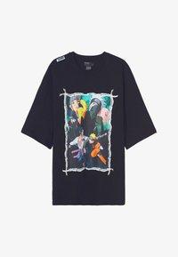 Bershka - NARUTO  - T-shirt med print - black - 4