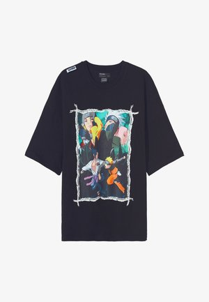NARUTO  - T-Shirt print - black