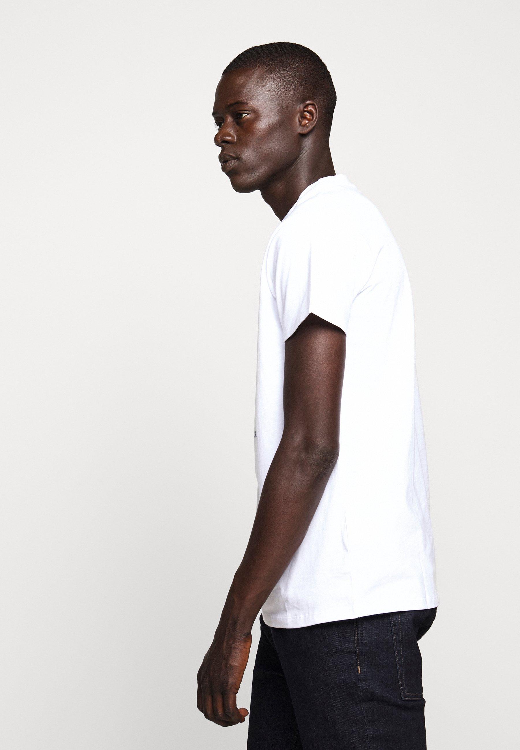 Fiorucci LIPS TEE - T-shirt imprimé - white
