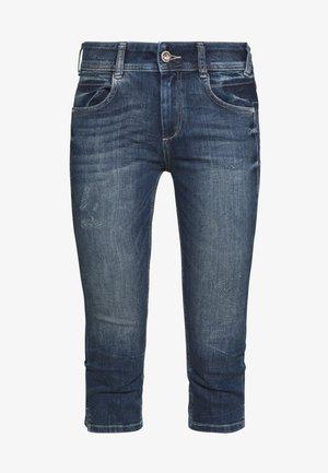KATE CAPRI - Denim shorts - random bleached  blue