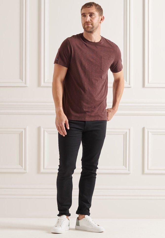Men STUDIOS POCKET - Basic T-shirt