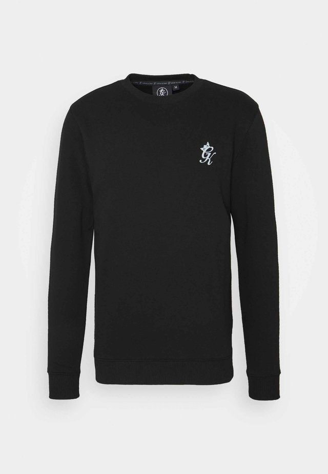BASIS CREW  - Sweatshirts - black