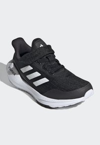 adidas Performance - EQ21 RUN - Neutral running shoes - black/white - 2