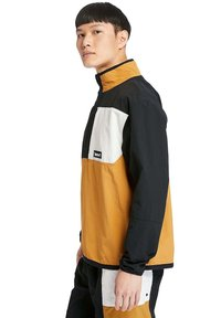 Timberland - OUTDOOR ARCHIVE PACKABLE  - Windbreaker - black white sand wheat - 4