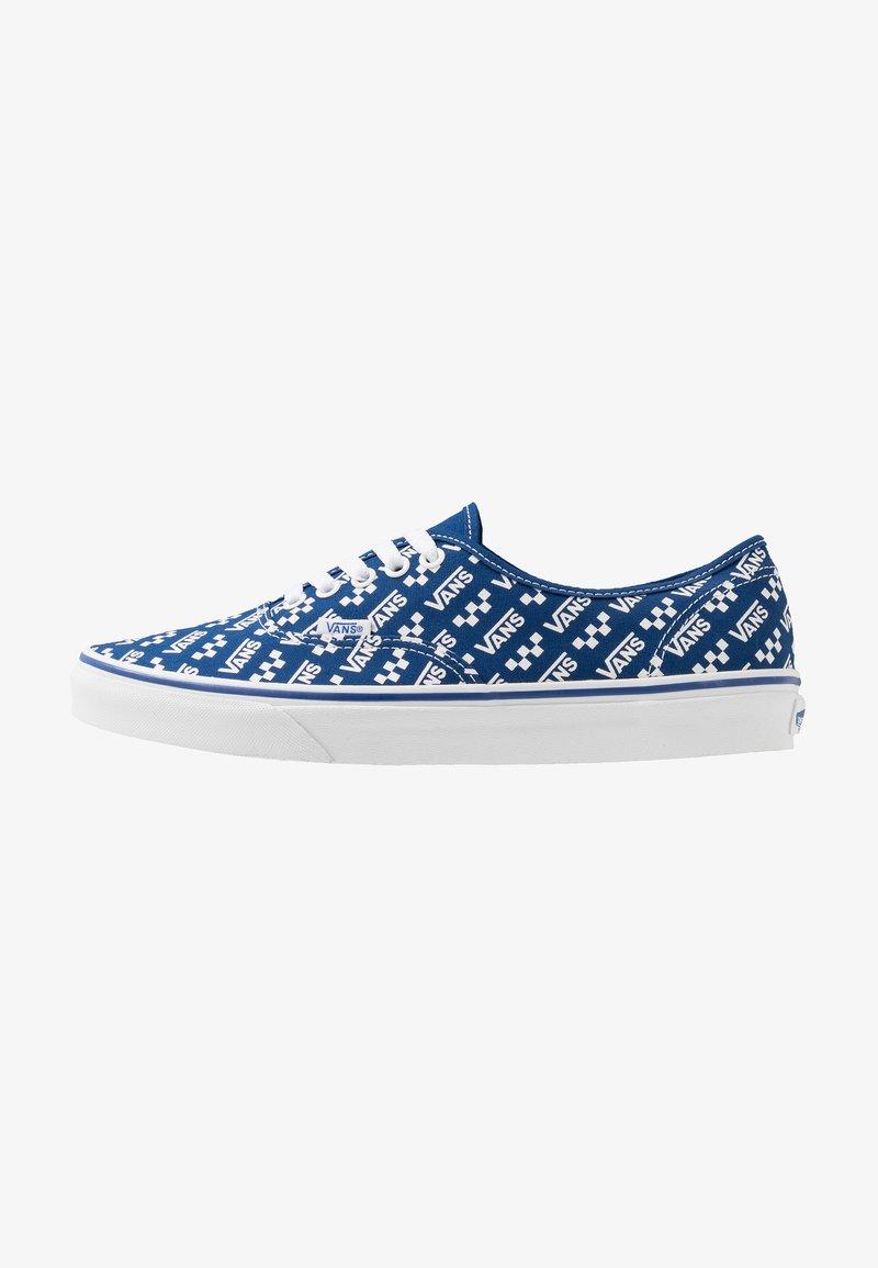 Vans - AUTHENTIC - Sneakersy niskie - true blue/true white