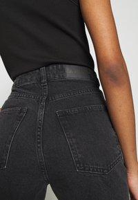 Monki - MOLUNA  - Jeans straight leg - black dark - 3