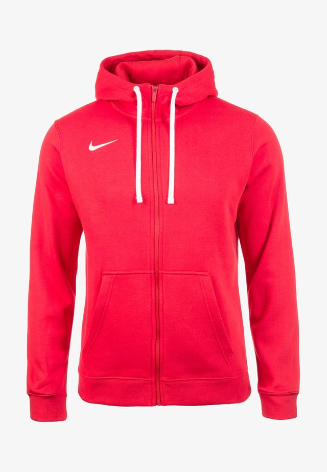 CLUB19 HERREN - Zip-up hoodie - university red / white