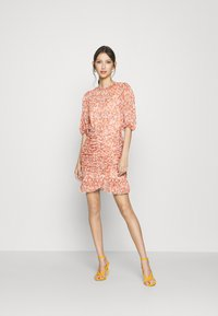 Forever New - KYLIE RUCHED MINI DRESS - Day dress - orange - 1